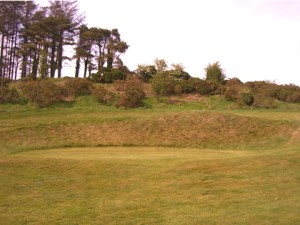 a mackenzie designed green at the present 9th hole