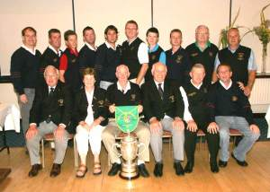 2007 Winning Irish Junior Cup team