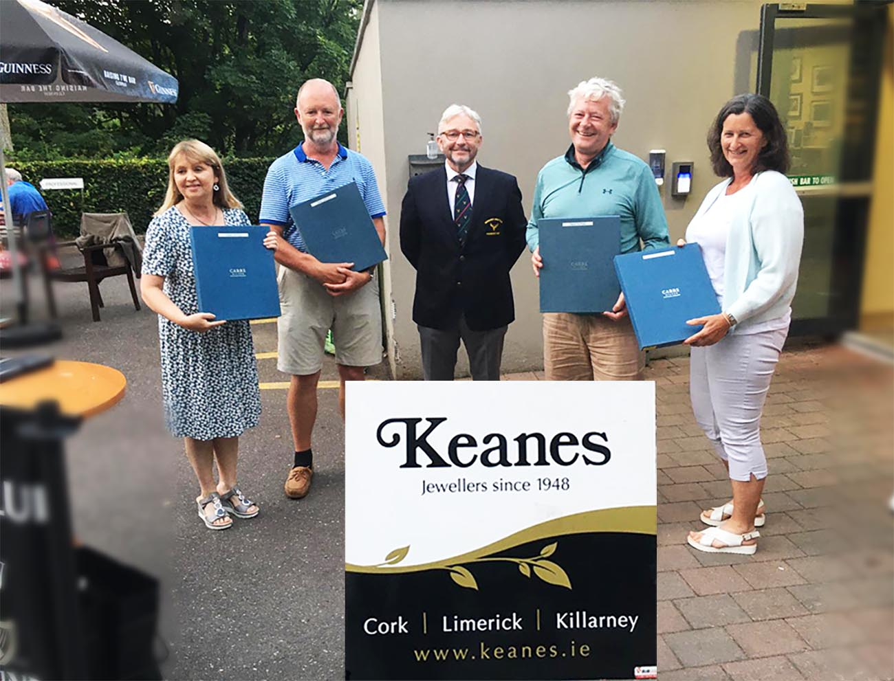 keans mixed fiursomes competition