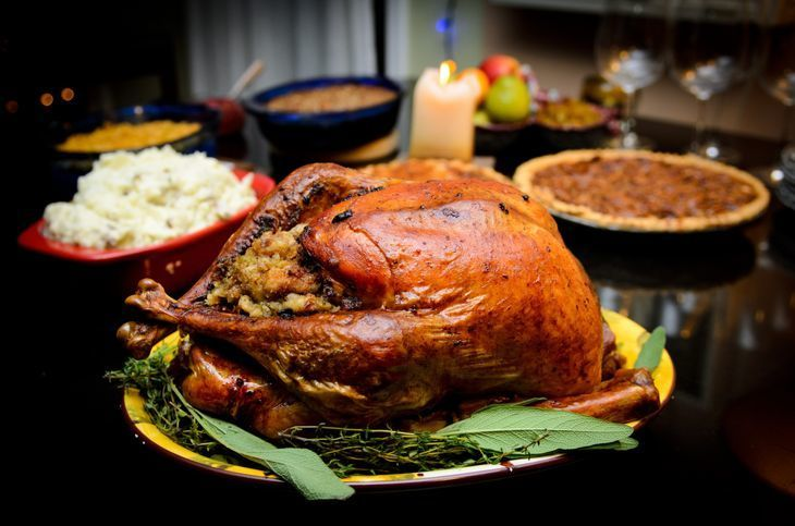 Traditional thanksgiving turkey