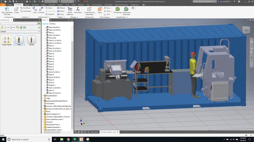 Custom Work Space Design