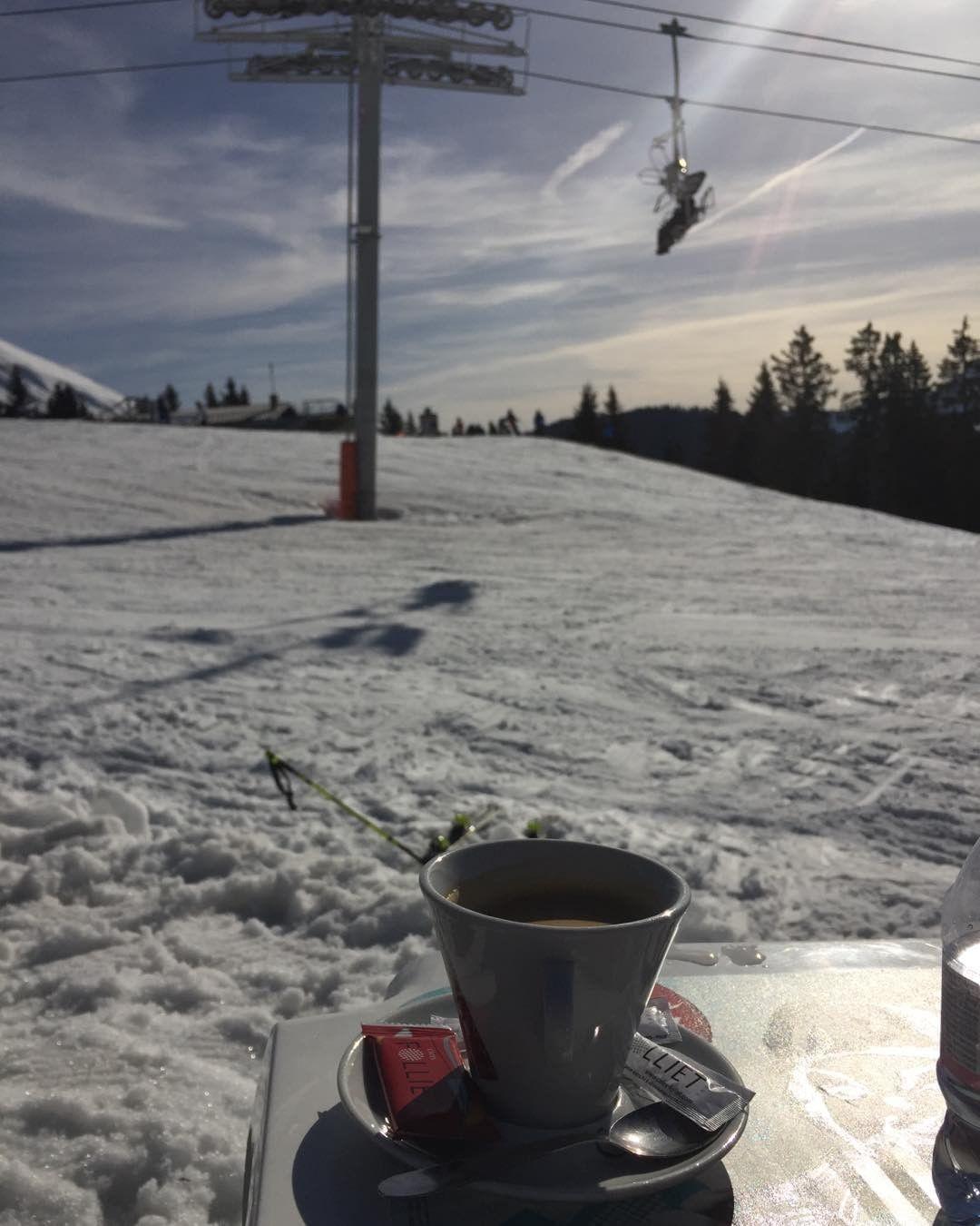Une petite pause simpose ski snow neige live alpes