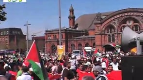 Demonstration in Bremen – Hilfskonvois für Gaza