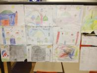 Draw a Masjid competition entries.