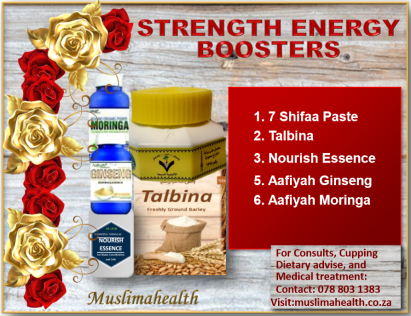 STRENGTH & ENERGY BOOSTERS
