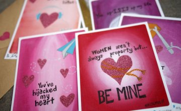 """I'd Wiretap That"": Muslim Valentine's Day Cards"