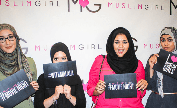 #MuslimGirlMovieNight at ISNA: He Named Me Malala
