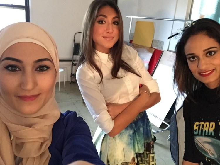 Nihal, Jenan, and Shanzay