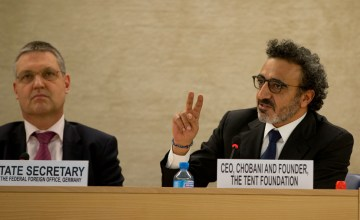 Watch as Chobani CEO Hamdi Ulukaya Gives Back in a Big Way
