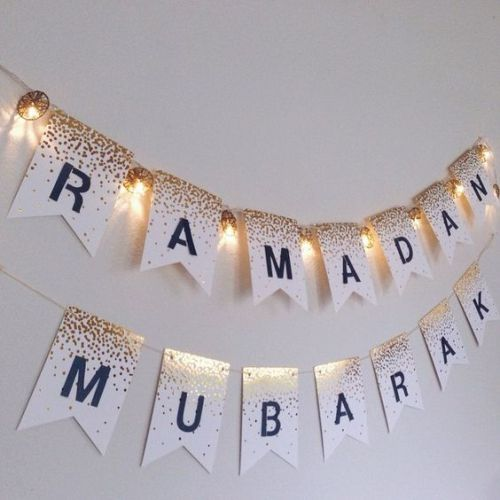ramadan letter garland