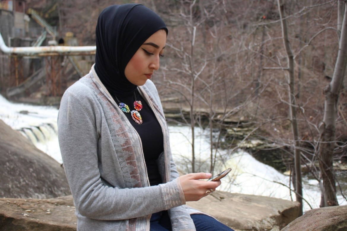 Noha Elsayed, 25, is inspired by the nature surrounding her and decides to post a relevant quote, pulled from the holy Quran.