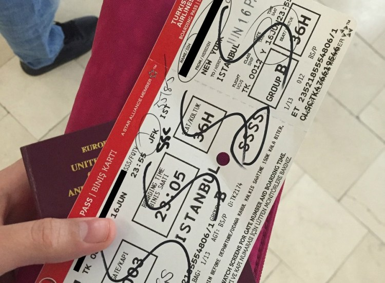 This Is What It's Like to Be On TSA's Dreaded SSSS List