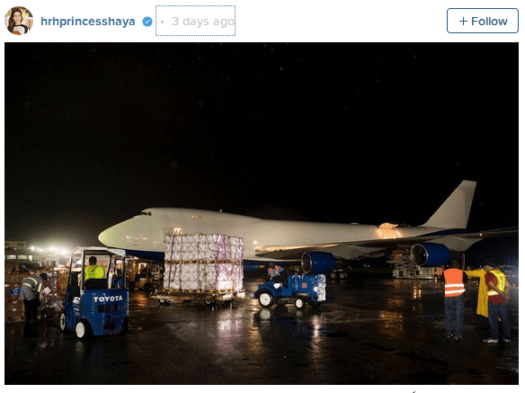 The Leader of Dubai Sent a Private Jet With Relief Aid to Haiti