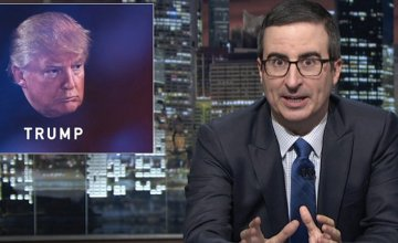 John Oliver Blasts Trump's Lewd Remarks on Women
