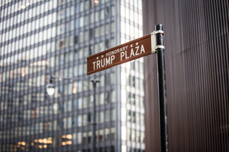 Someone Removed the Trump Street Sign; Chicago City Councilors Are OK With It