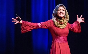 This Syrian-American Poet Challenges Stereotypes by Asking a Simple Question