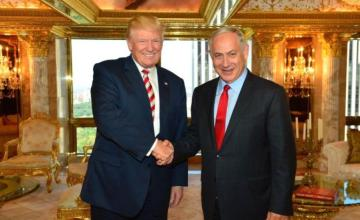 Netanyahu Tweets Praise for Trump and His Wall