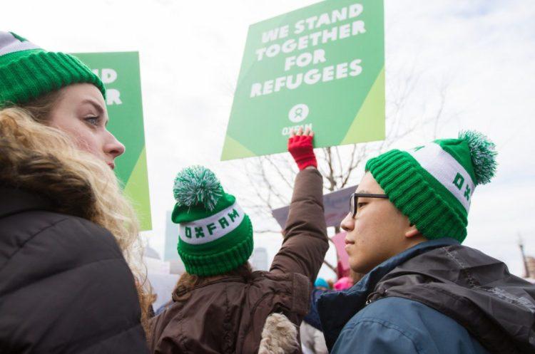 oxfam america trump executive order refugees