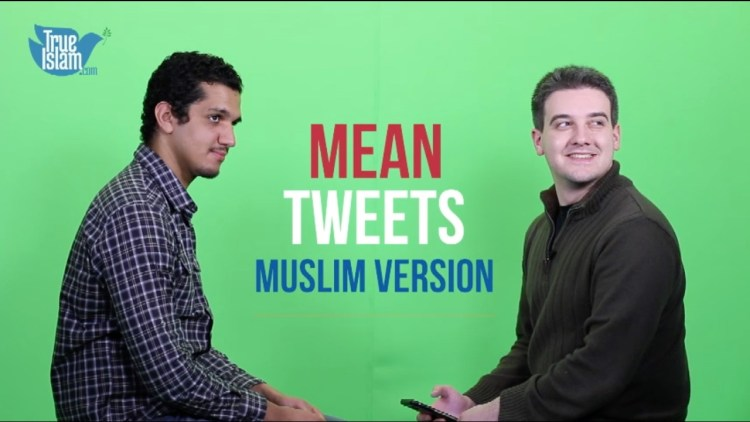 mean tweets muslim