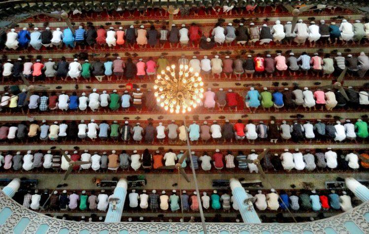 prayer back exercise