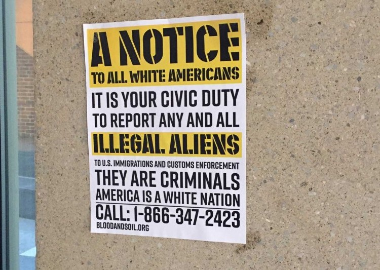 White Supremacist Fliers Found in University of Maryland