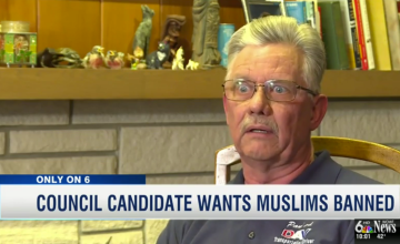 Nebraska City Council Candidate Calls for His Own Muslim Ban