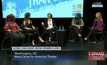 Muslim Girl Founder Joins in Conversation With Chelsea Clinton, Barbara Bush