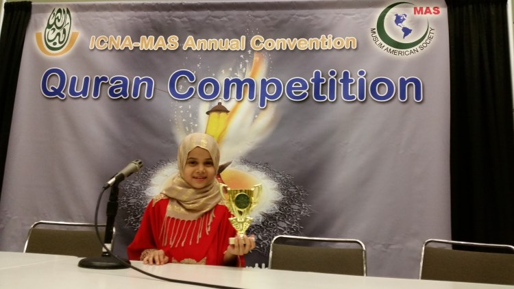 Winner ICNA MAS Quran Competition