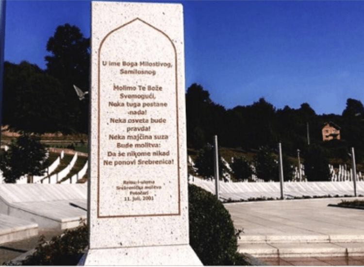 Remembering Srebrenica: The Largest Ethnic Cleansing in Europe Since the Holocaust