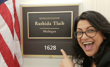 Why Rashida Tlaib's Swearing-In Outfit Is an Act of Resistance