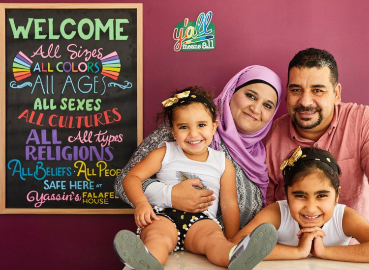 Here's How Refugees Turn Hate Into Love