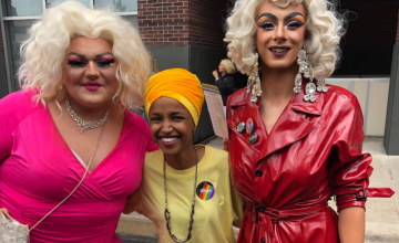 Rep. Ilhan Omar Attended Pride and Muslim Twitter Went Nuts