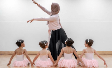 Introducing the First Ever Muslim Ballet School