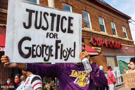 Justice for George Floyd Starts With Us thumbnail