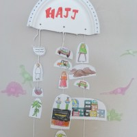 Hajj - kids craft