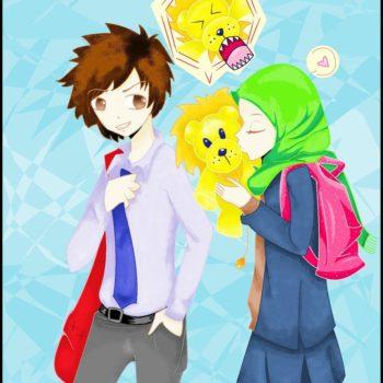 aya and sura muslim comic