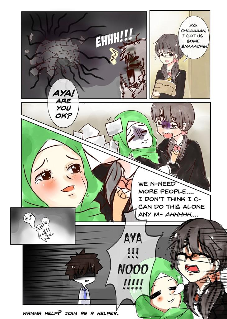 need help manga page