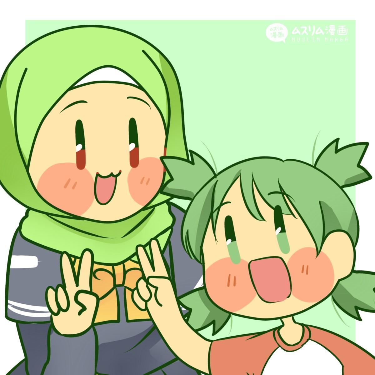 fanart aya and yotsuba