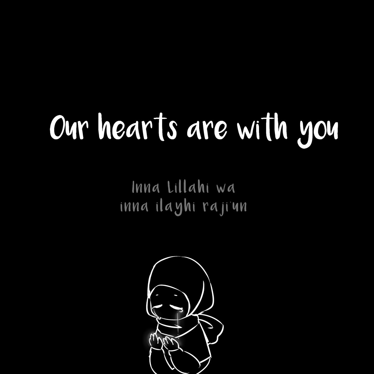 our hearts are with you