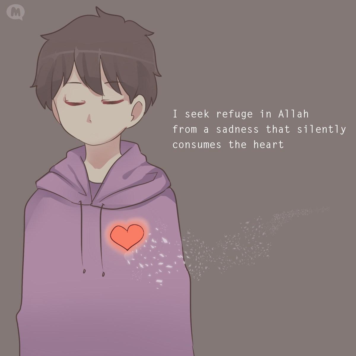 i seek refuge heart