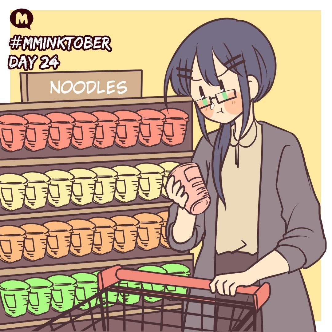 Day 24: Maki-sensei is grocery shopping!