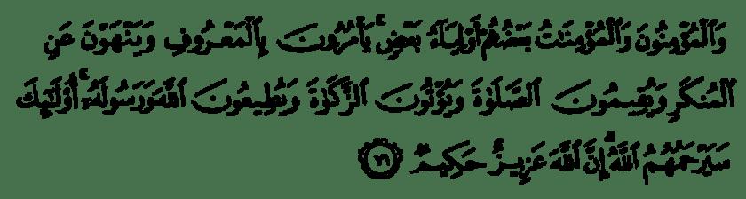 Quran 9:71