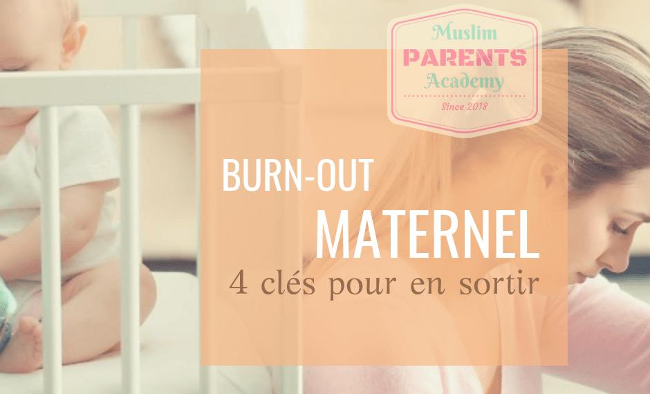 Burn-out maternel épuisement maternel