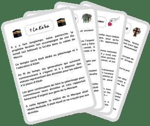 Calendrier - Activités Ramadan   Les cartes sîrah