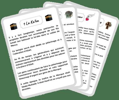 Calendrier - Activités Ramadan | Les cartes sîrah