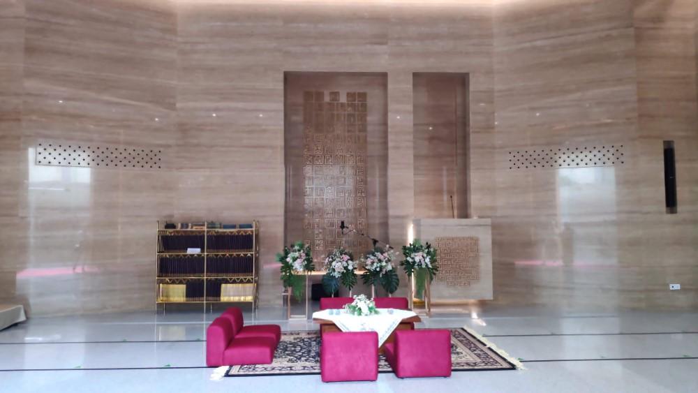 Contoh Penggunaan Acara Pernikahan di Masjid kotak