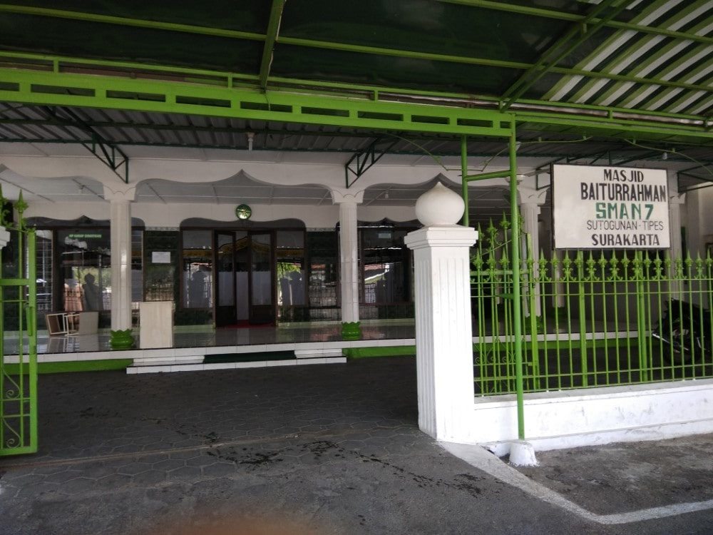 Review Masjid Ibadurrahman SMAN7 Solo