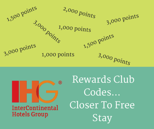 IHG Rewards club codes