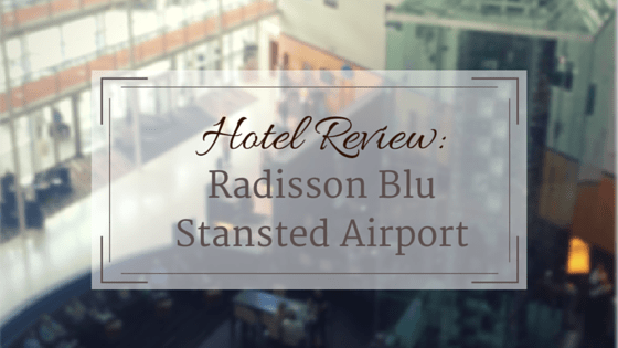 Radisson Blu Stansted airport