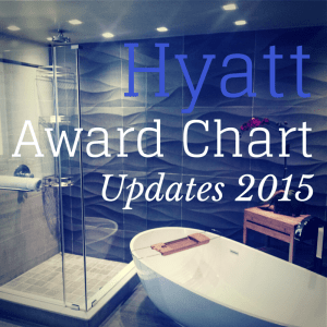 Hyatt Announces 2015 Award Chart Updates